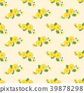 yellow, daisy, seamless 39878298