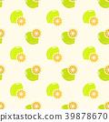 lemon seamless pattern 39878670