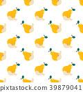 pear, seamless, pattern 39879041