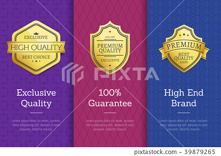 Exclusive Quality 100 Guarantee High End Labels 39879265