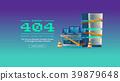 error 404 vector 39879648