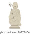 Japanese Shinto Statue 39879804