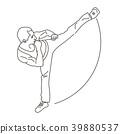 karate, karateka, kick 39880537