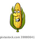 Corn. Cute vegetable vector character 39880641