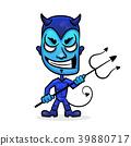 Blue Devil Head 39880717