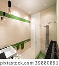 bathroom, interior, shower 39880891
