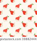 pear, seamless, pattern 39882444