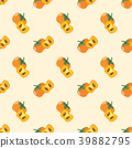 Seamless background tropical organic fruit 39882795