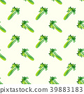 Seamless background vegetable food ingredient 39883183