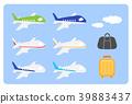air, plane, airplane 39883437