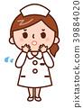 護士 成熟的女人 一個年輕成年女性 39884020