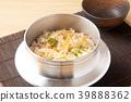食用笋 竹笋饭 煮杂烩饭 39888362
