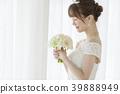 웨딩 부케 신부 39888949
