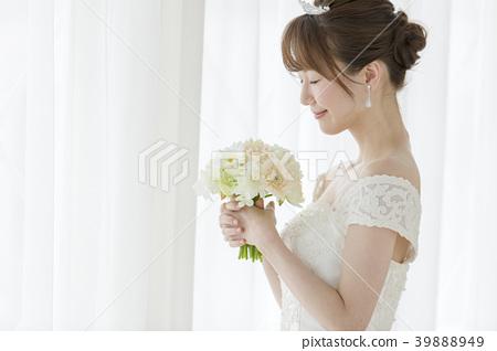 婚礼花束新娘 39888949