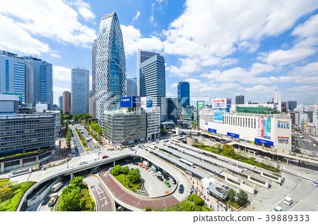 도쿄 신주쿠 역 서쪽 출구 풍경 39889333