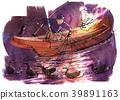 鸕鶿 鸕鶿捕魚 用鸕鶿捕魚的漁夫 39891163