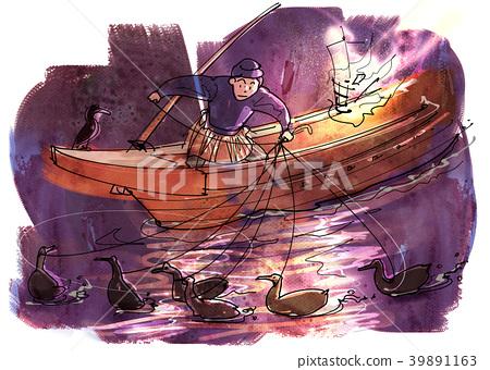 cormorant fishing 39891163