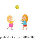 kid, playground, vector 39892087