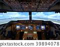 플라이트 시뮬레이터 Boeing747-400 조종석 조종석 속도 이미지 39894078