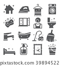 Cleaning and Housework icons 39894522