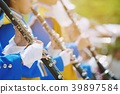 musicians instruments in a marching band  39897584