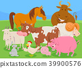 animal cow horse 39900576