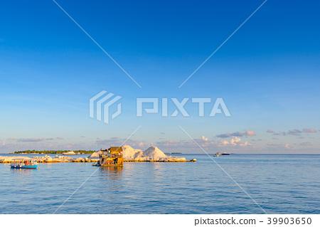 몰디브 말레 항구 풍경 39903650