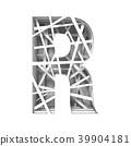 paper, alphabet, 3d 39904181