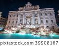 Trevi Fountain in Rome , Italy 39908167