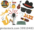 music, jazz, icon 39910483