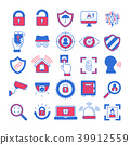 Security and Protection Icon set 39912559