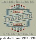design traveler alphabet 39917998