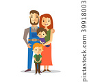 Family vector illustration 39918003
