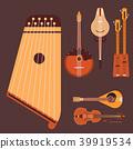 vector instrument violin 39919534