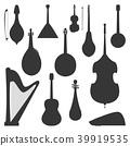 vector, instrument, violin 39919535