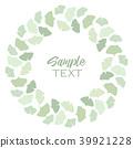 Ginkgo biloba leaves 39921228