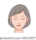一個閉上眼睛的女人 39921657