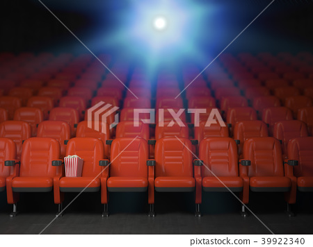 Cinema and movie theater concept background 39922340