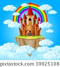 the castle above a cloud 39925108