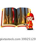 forest on fire in the book and firefighter 39925129
