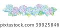 수국의 일러스트 39925846