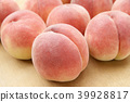 桃子 水蜜桃 桃 39928817