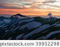 mountain, eventide, iide mountain range 39932298