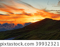mountain, eventide, sunset 39932321