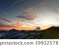 산, 노을, 풍경 39932578