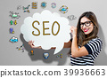 SEO, text, word 39936663