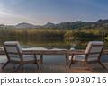 ake house terrace  3d render 39939716