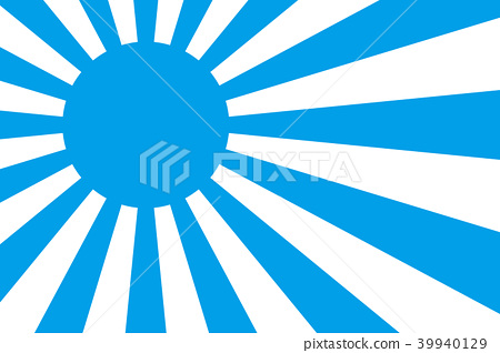 Background material, japan, sunrise, national flag, sun flag, sun flag, sunlight, symbol, japanese style, new year's card, new year flag, new year's day, first sunrise 39940129