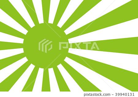 背景材料,日本,日出,國旗,太陽旗,太陽旗,陽光,符號,日式,新年的卡,新年旗,新的一年的一天,第一次日出 39940131
