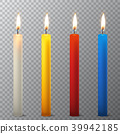 vector, 3d, candle 39942185
